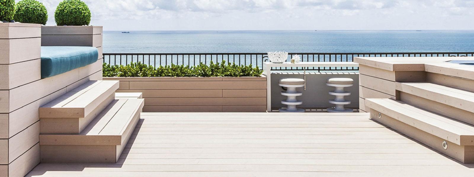 besser als holz wpc wasserfeste produkte design aus resysta. Black Bedroom Furniture Sets. Home Design Ideas